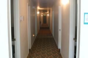 Women's Dorm hallway